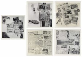 Robert Rauschenberg-Features From Currents: Eighteen Plates-1970