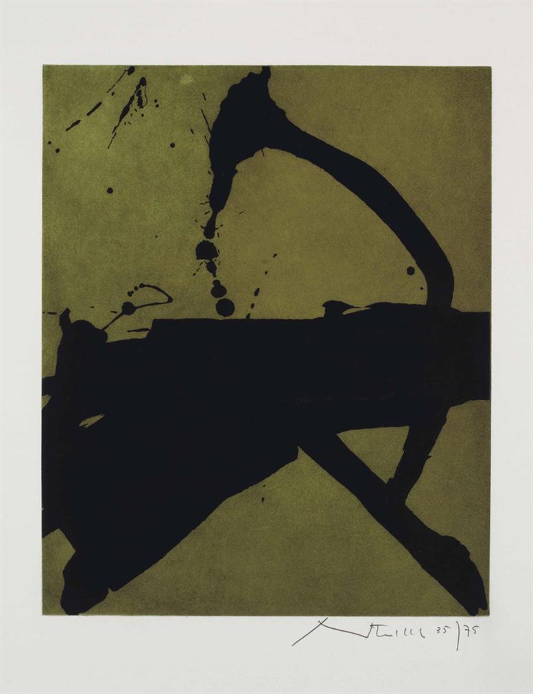 Robert Motherwell-Gesture II-1977