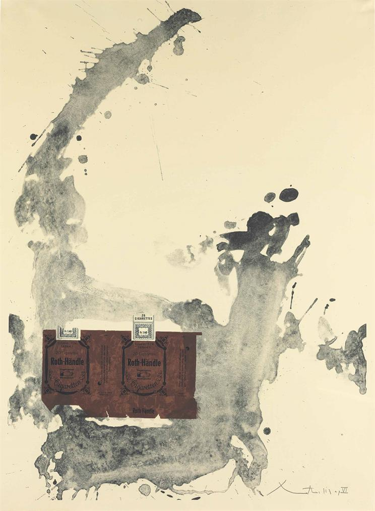 Robert Motherwell-Tobacco Roth-Handle-1975