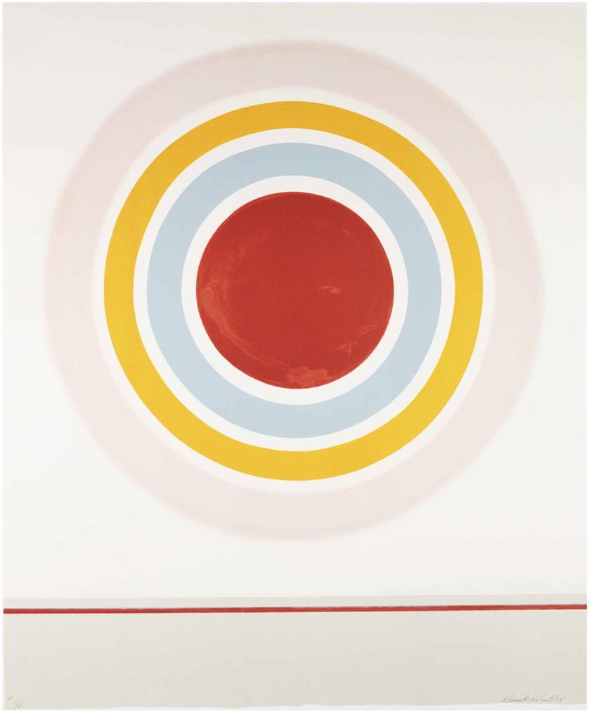 Kenneth Noland-Blush-1978