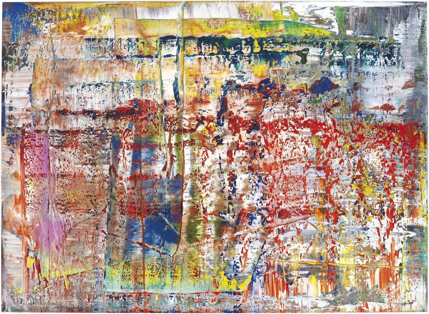 Gerhard Richter-Abstrakes Bild (P1)-2014