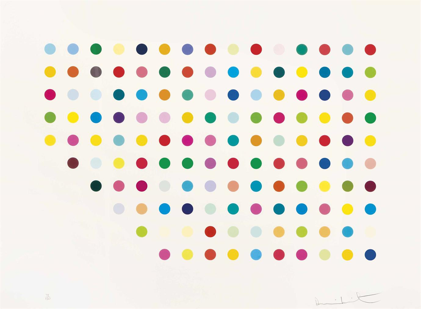 Damien Hirst-Meprobamate; Controlled Substances Key Spot-2011