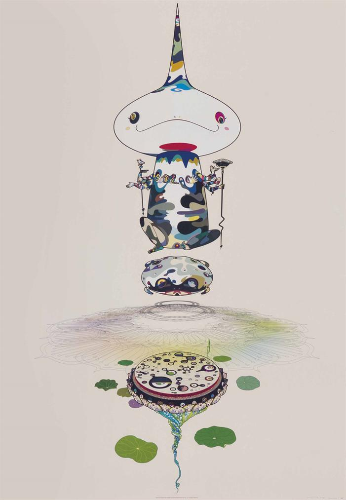 Takashi Murakami-Four Prints By The Artist-2005