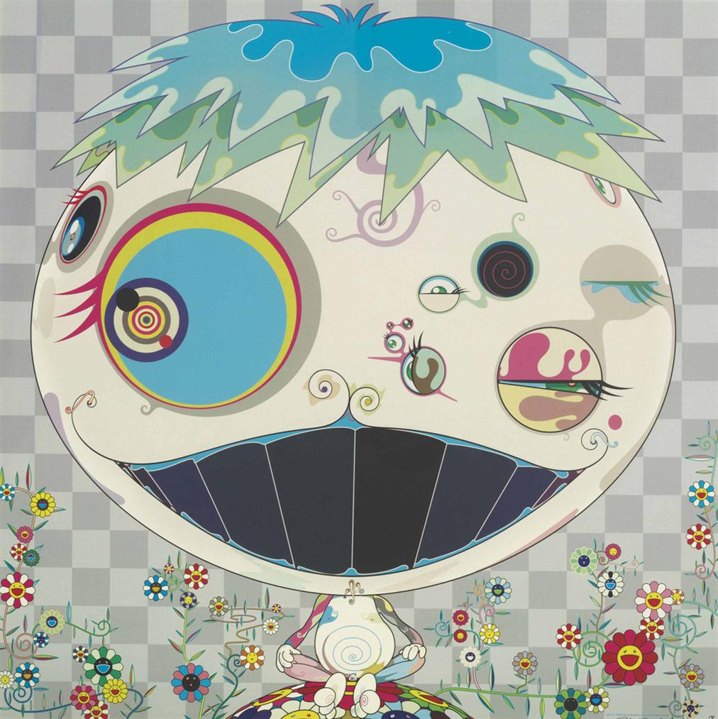 Takashi Murakami-Four Prints By The Artist-2007