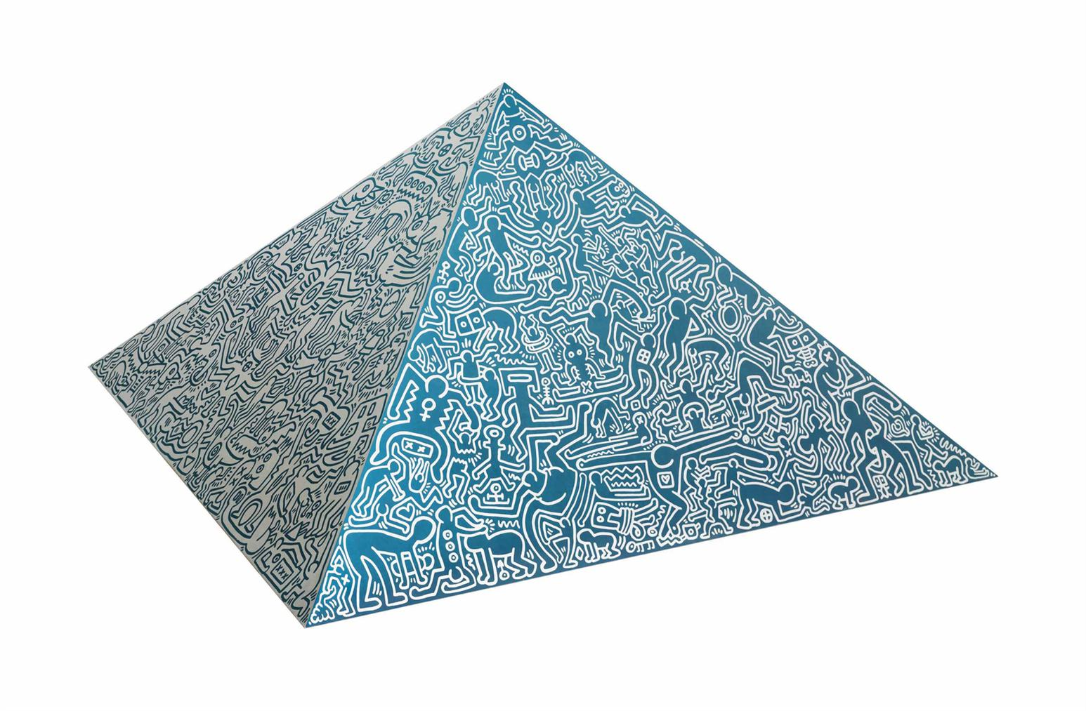 Keith Haring-Pyramid Sculpture-1989