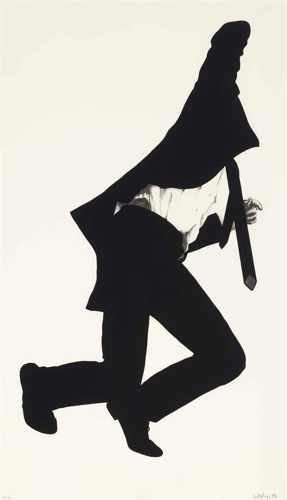 Robert Longo-Frank, From Men In Cities-1983