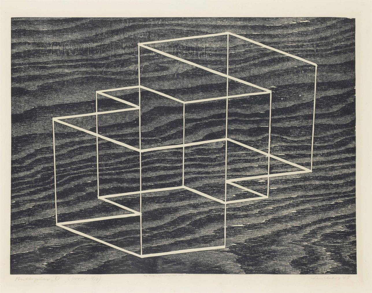 Josef Albers-Multiplex D-1948