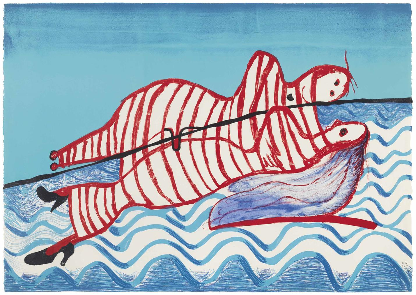 Louise Bourgeois-Hamlet And Ophelia-1997
