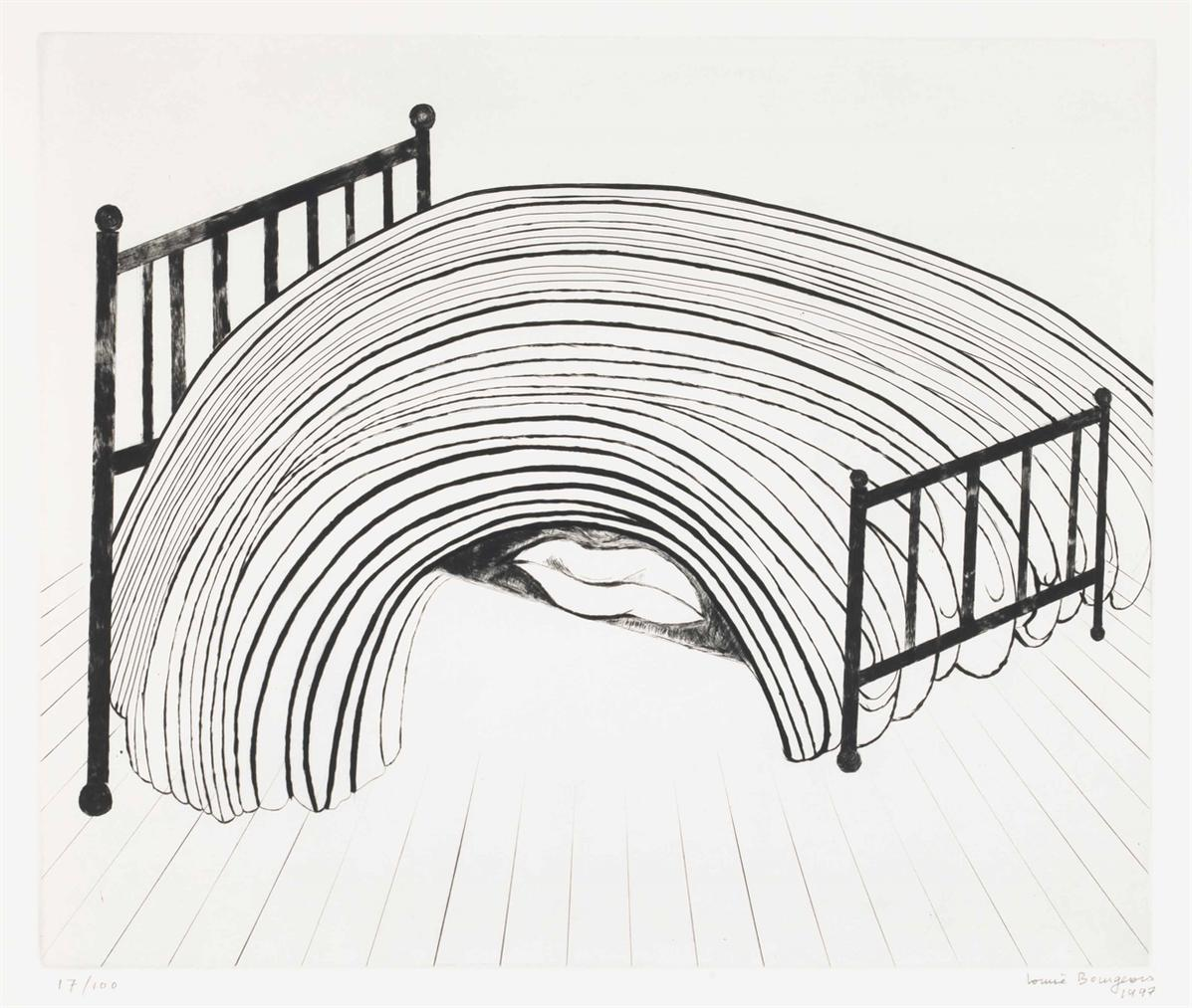 Louise Bourgeois-Bed-1997
