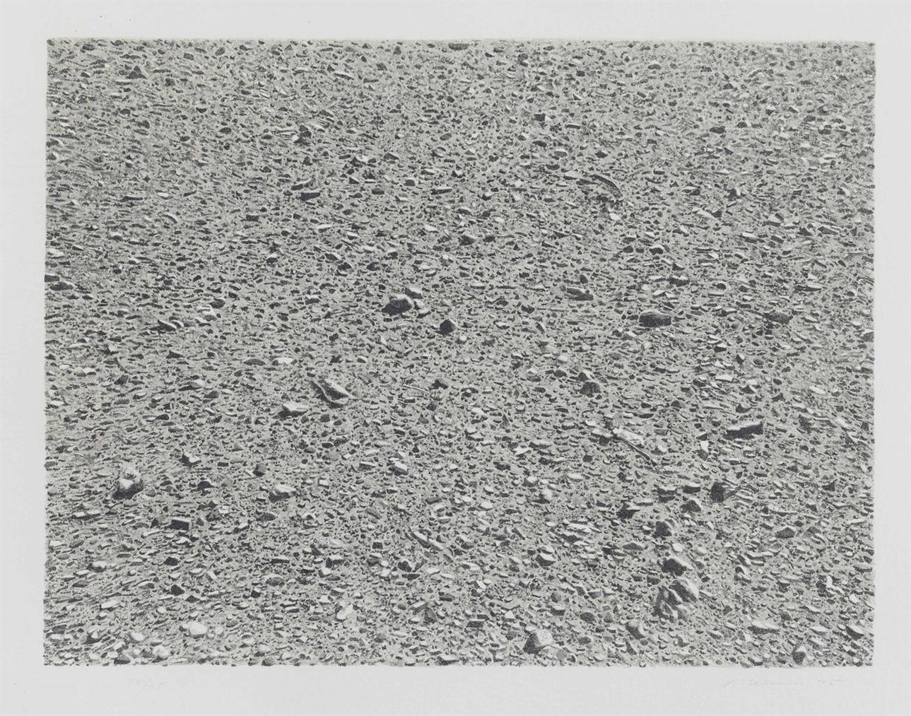 Vija Celmins-Desert, From Untitled Series-1975