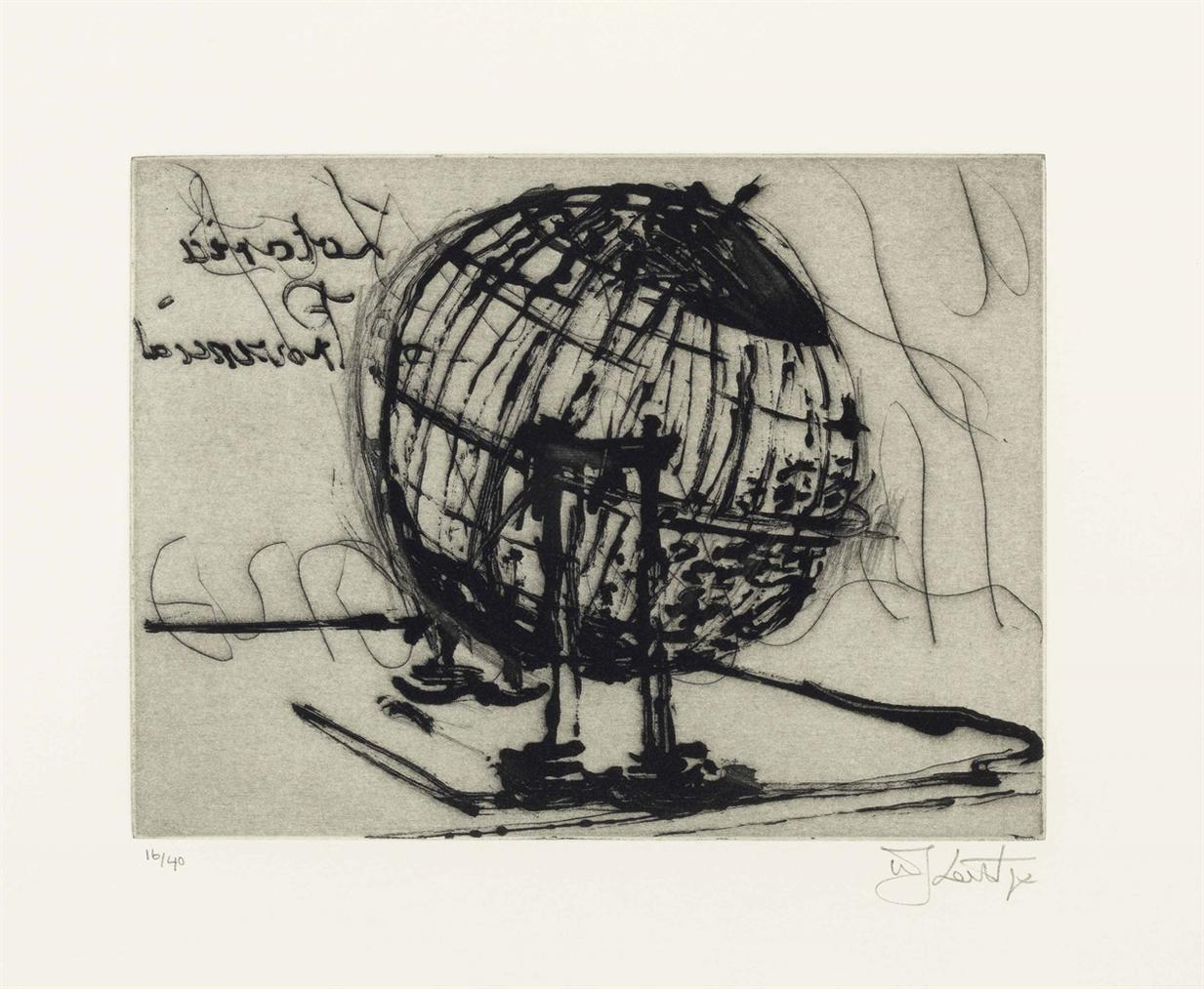 William Kentridge-Globe-2003