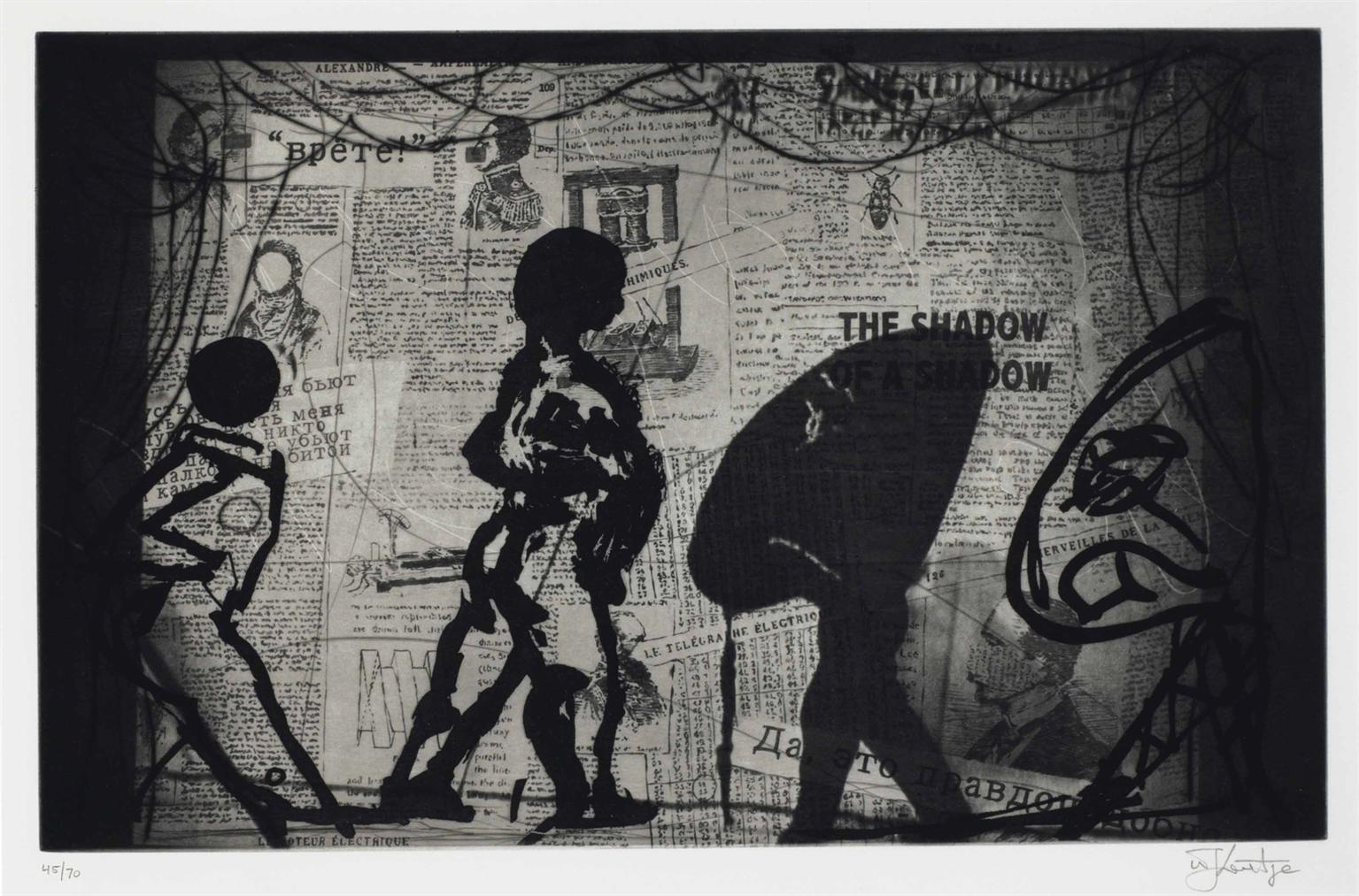 William Kentridge-The Nose-2010