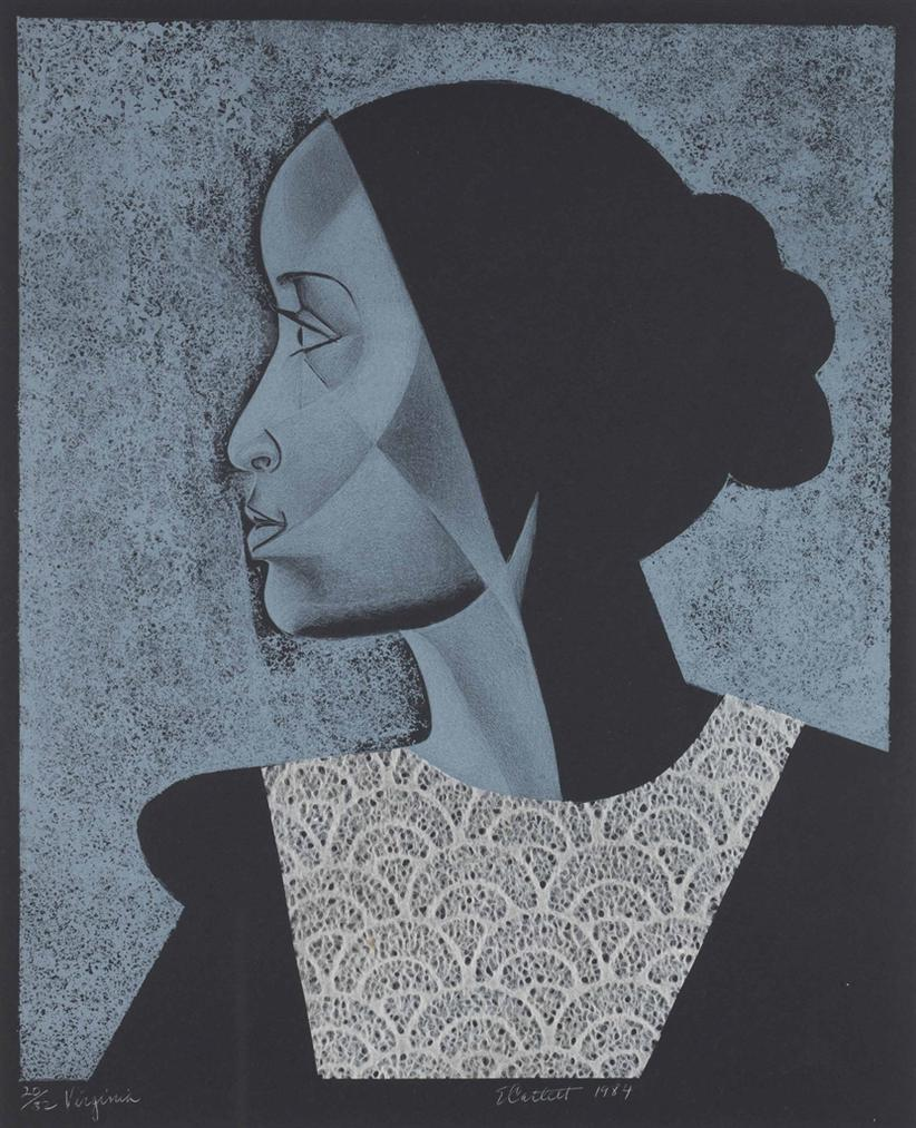 Elizabeth Catlett-Virginia-1984