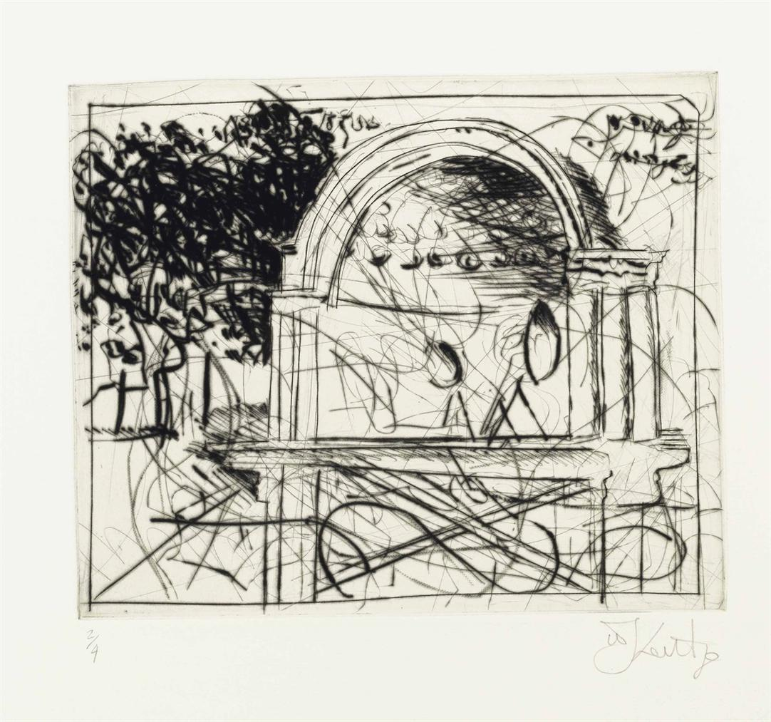 William Kentridge-Untitled (Central Park Bandshell)-2005