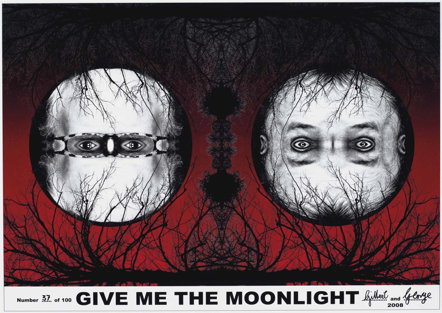 Gilbert and George-Flagration And Give Me The Moonlight-2008