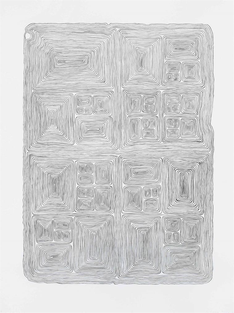 James Siena-Nested Unknot Variation-2004