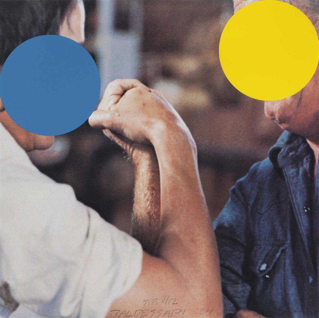 John Baldessari-Two Opponents (Blue And Yellow)-2004