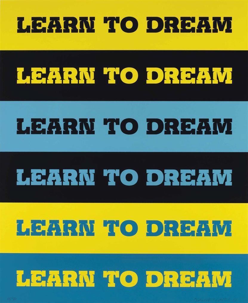 John Baldessari-Learn To Dream-2011