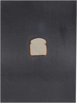 Jasper Johns-Bread, From Lead Reliefs-1970