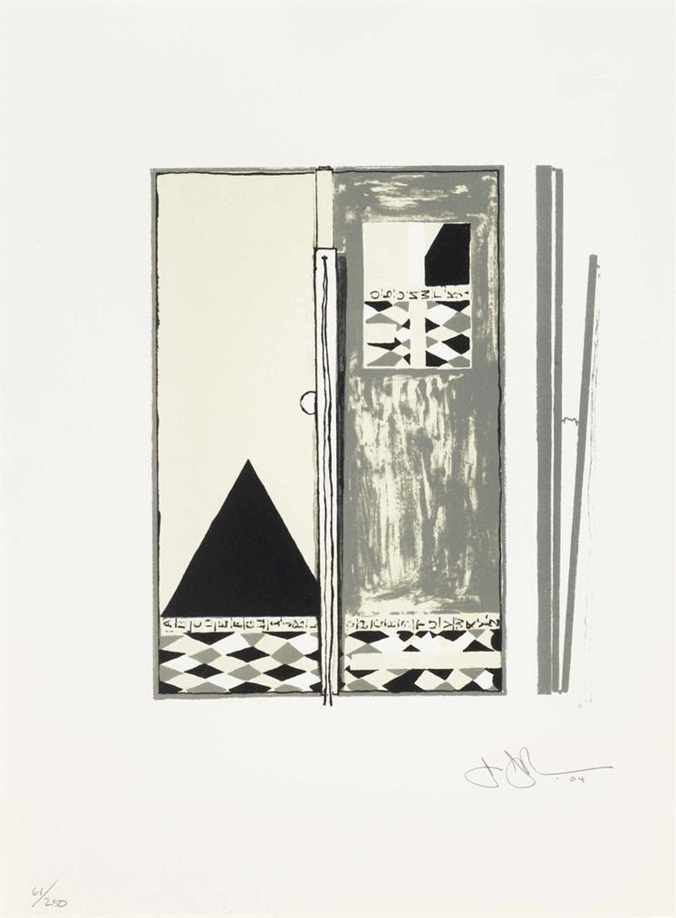 Jasper Johns-Pyre 2-2004