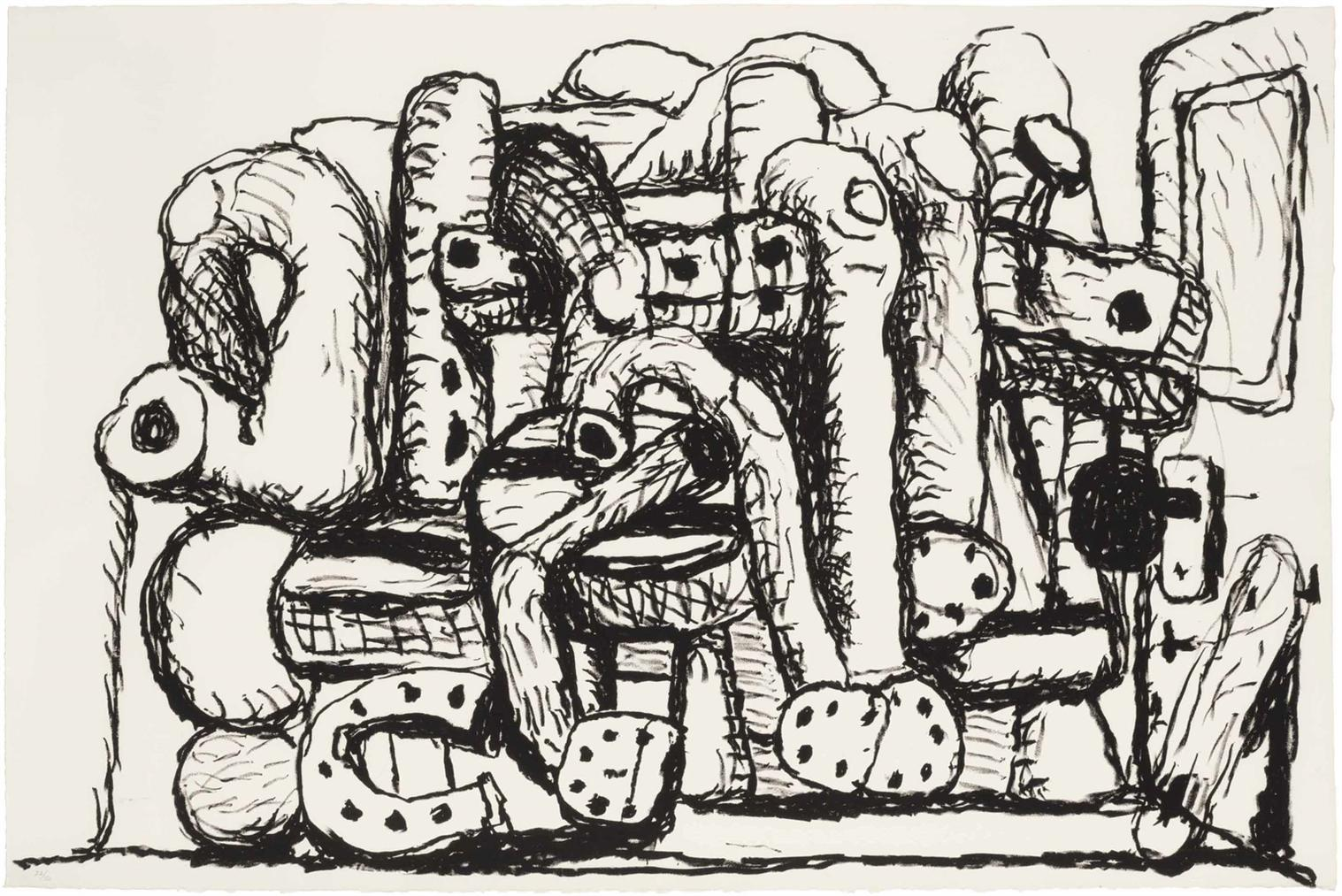 Philip Guston-Pile Up-1980