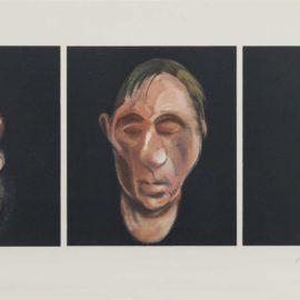 Francis Bacon-Trois Etudes Pour Un Autoportrait-1983