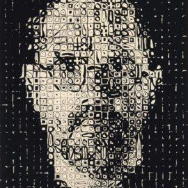Chuck Close-Self Portrait-1999