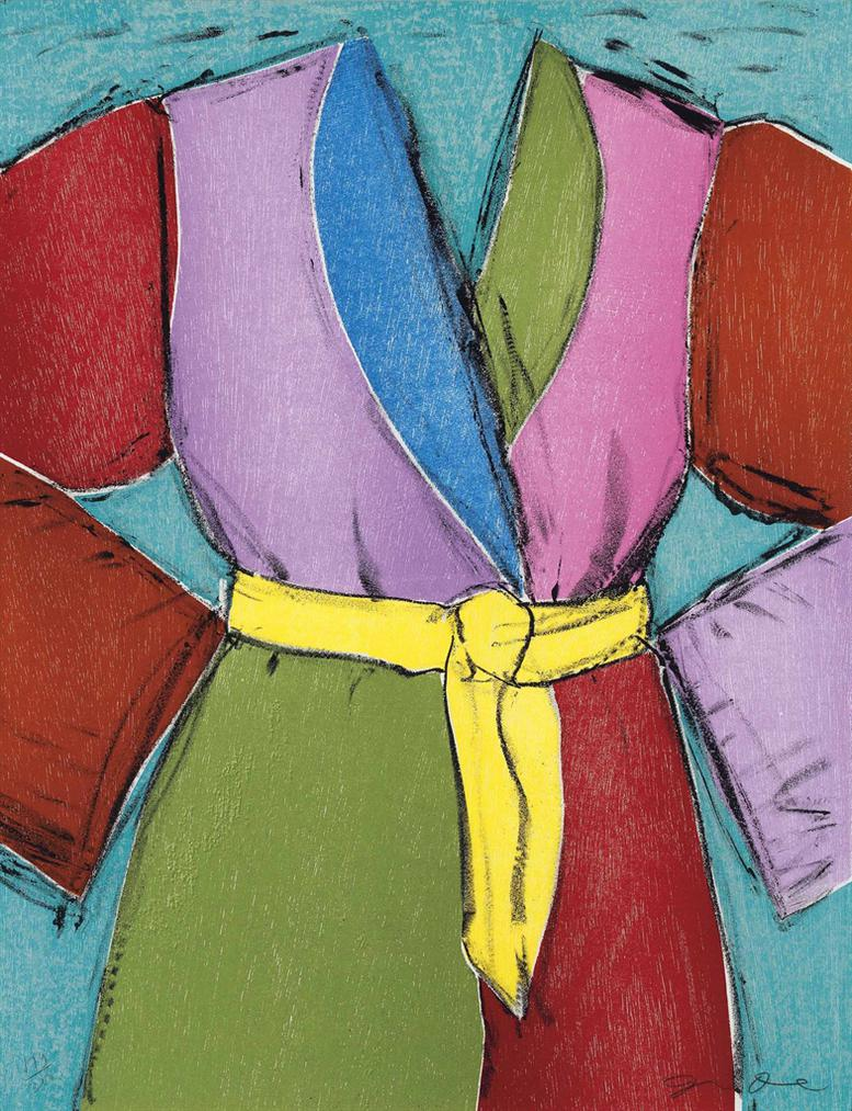 Jim Dine-The Yellow Belt; Venus the Bather-2005