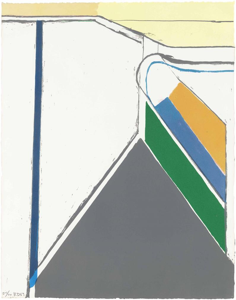 Richard Diebenkorn-Untitled (Ocean Park)-1969