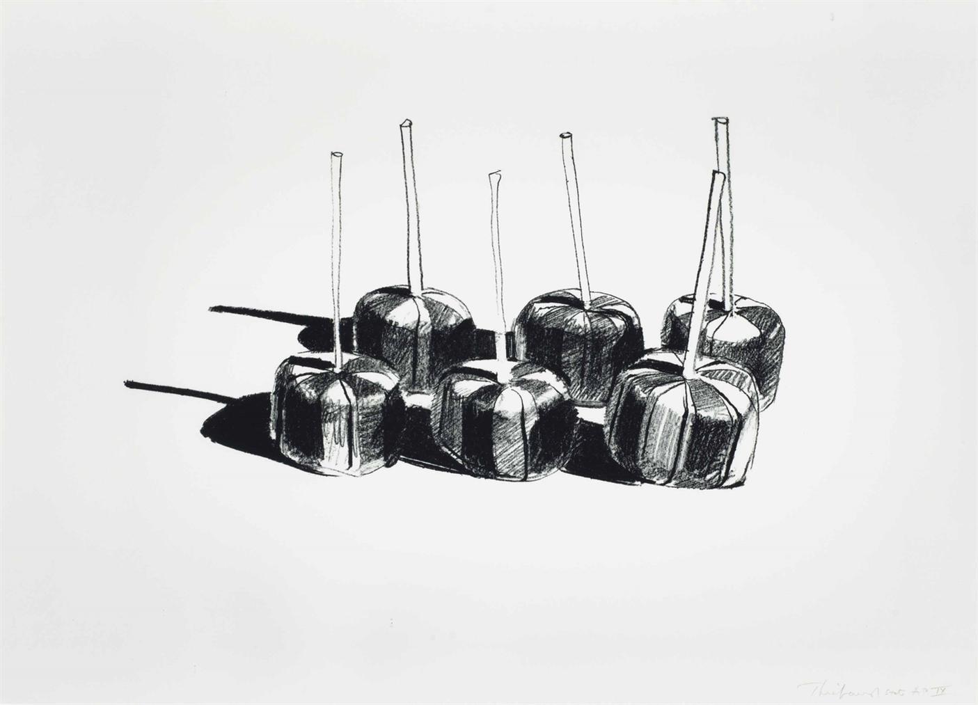 Wayne Thiebaud-Suckers State I-1968