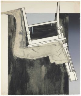 Jasper Johns-Leg And Chair, From Fragment - According To What-1971