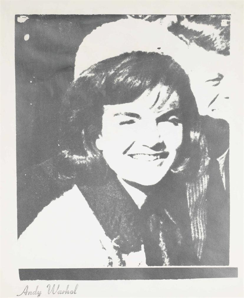 Andy Warhol-Jacqueline Kennedy I, From 11 Pop Artists I-1966