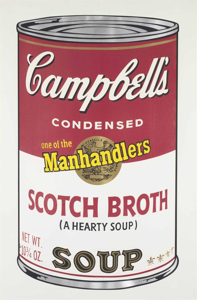 Andy Warhol-Scotch Broth, From Campbells Soup II-1969