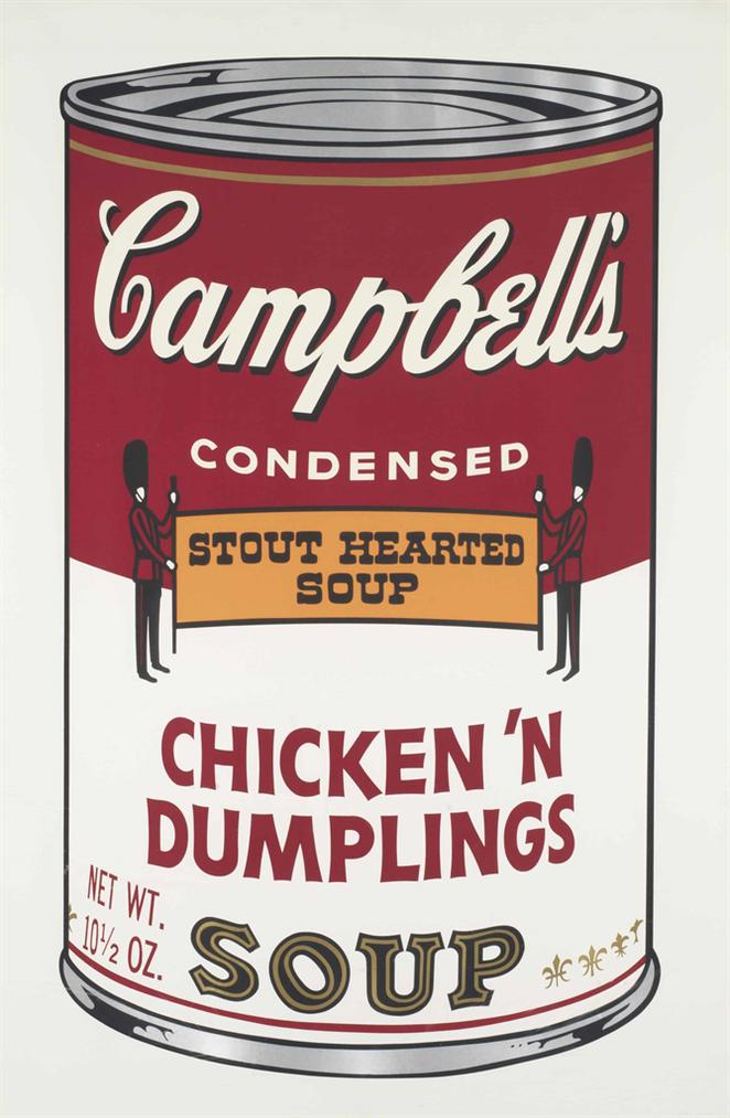 Andy Warhol-Chicken N Dumplings, From Campbells Soup II-1969