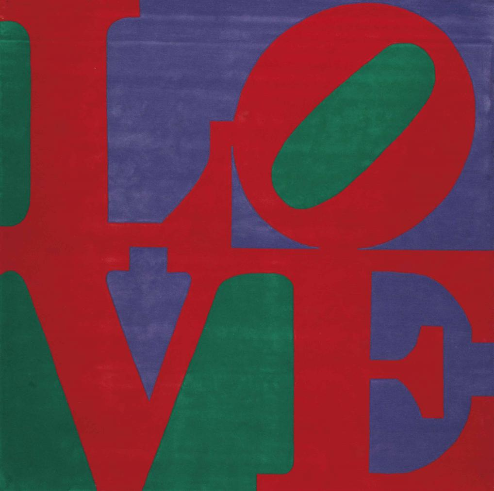 Robert Indiana-Chosen Love-1995