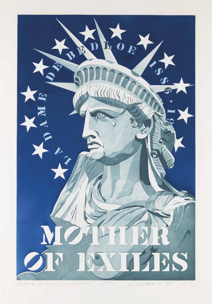 Robert Indiana-Mother Of Exiles; Mother of All Exiles-1986
