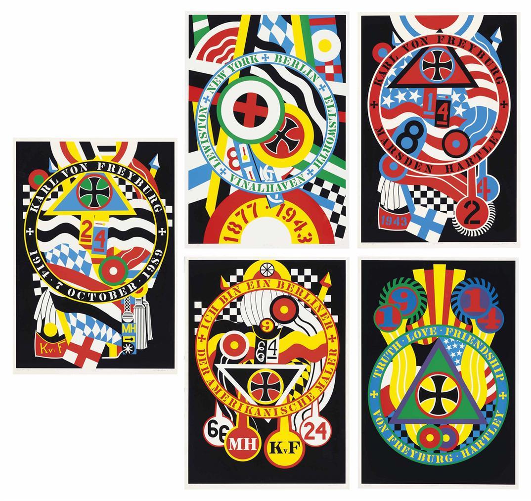 Robert Indiana-Hartley Elegies: The Berlin Series-1990