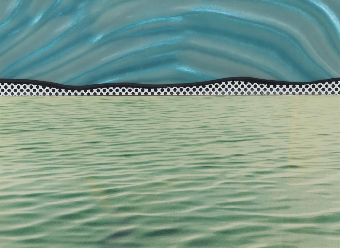 Roy Lichtenstein-Landscape 6, From Ten Landscapes-1967