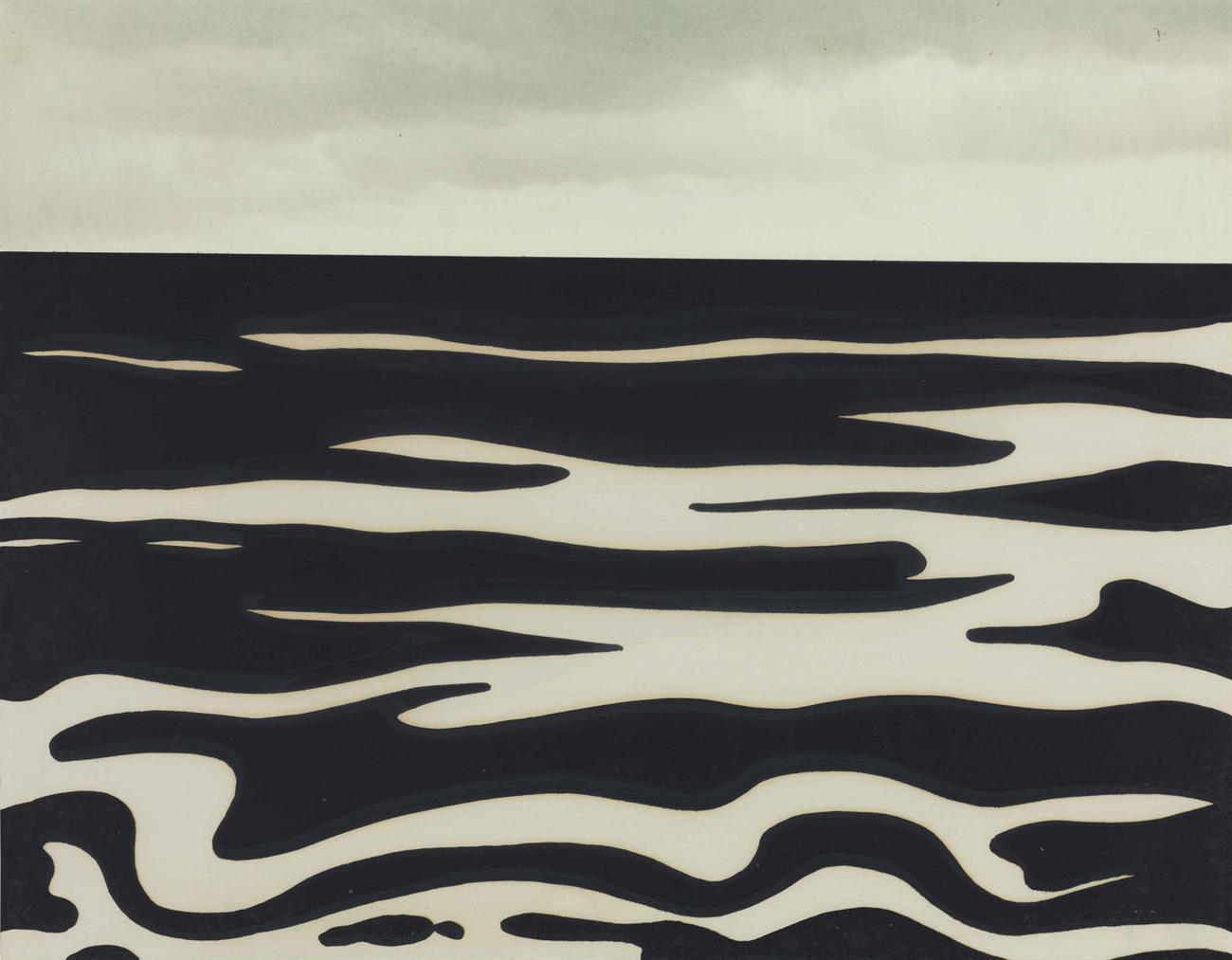 Roy Lichtenstein-Landscape 9, From Ten Landscapes-1967