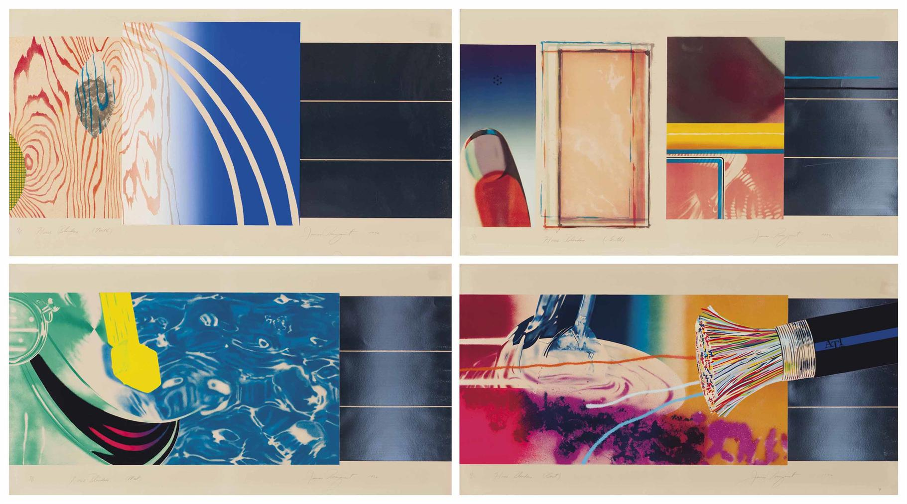 James Rosenquist-Horse Blinders-1972