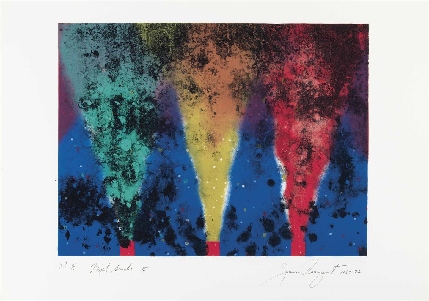 James Rosenquist-Night Smoke II-1972