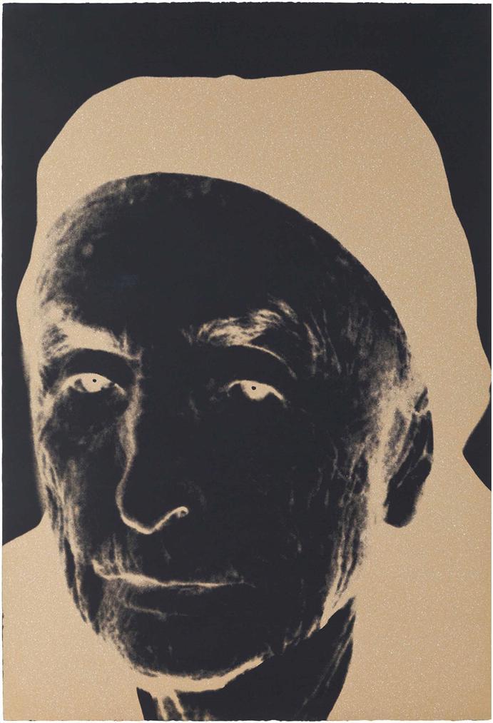 Andy Warhol-Georgia Okeefe-1979