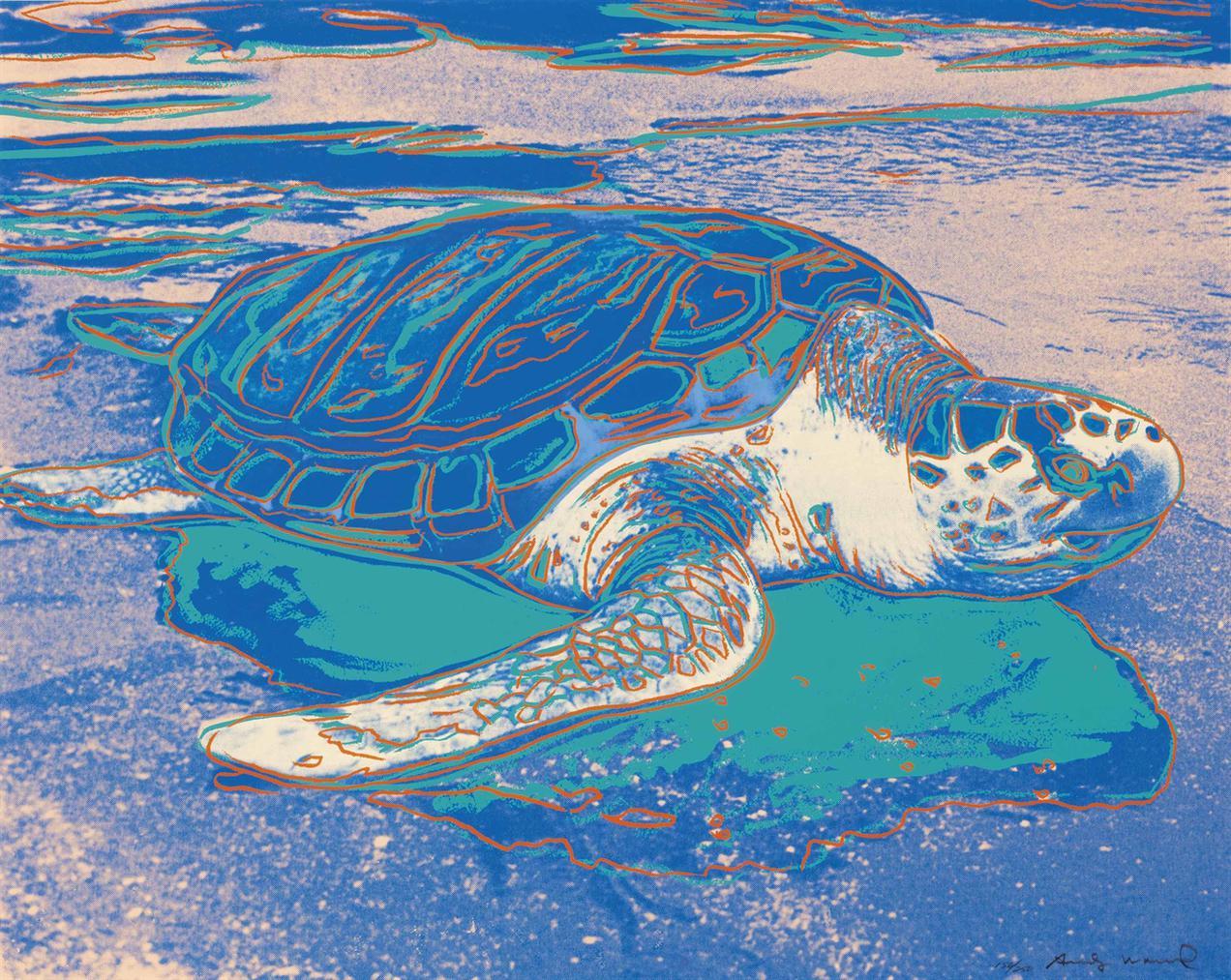 Andy Warhol-Turtle-1985