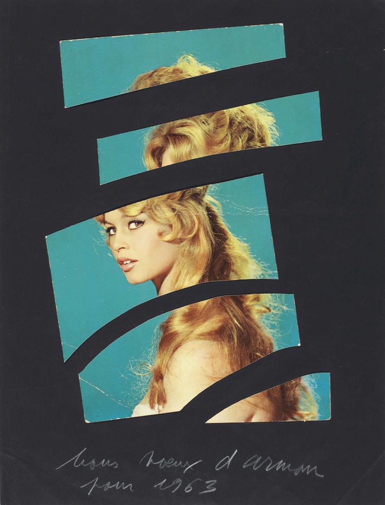 Arman-Brigitte Bardot-1963