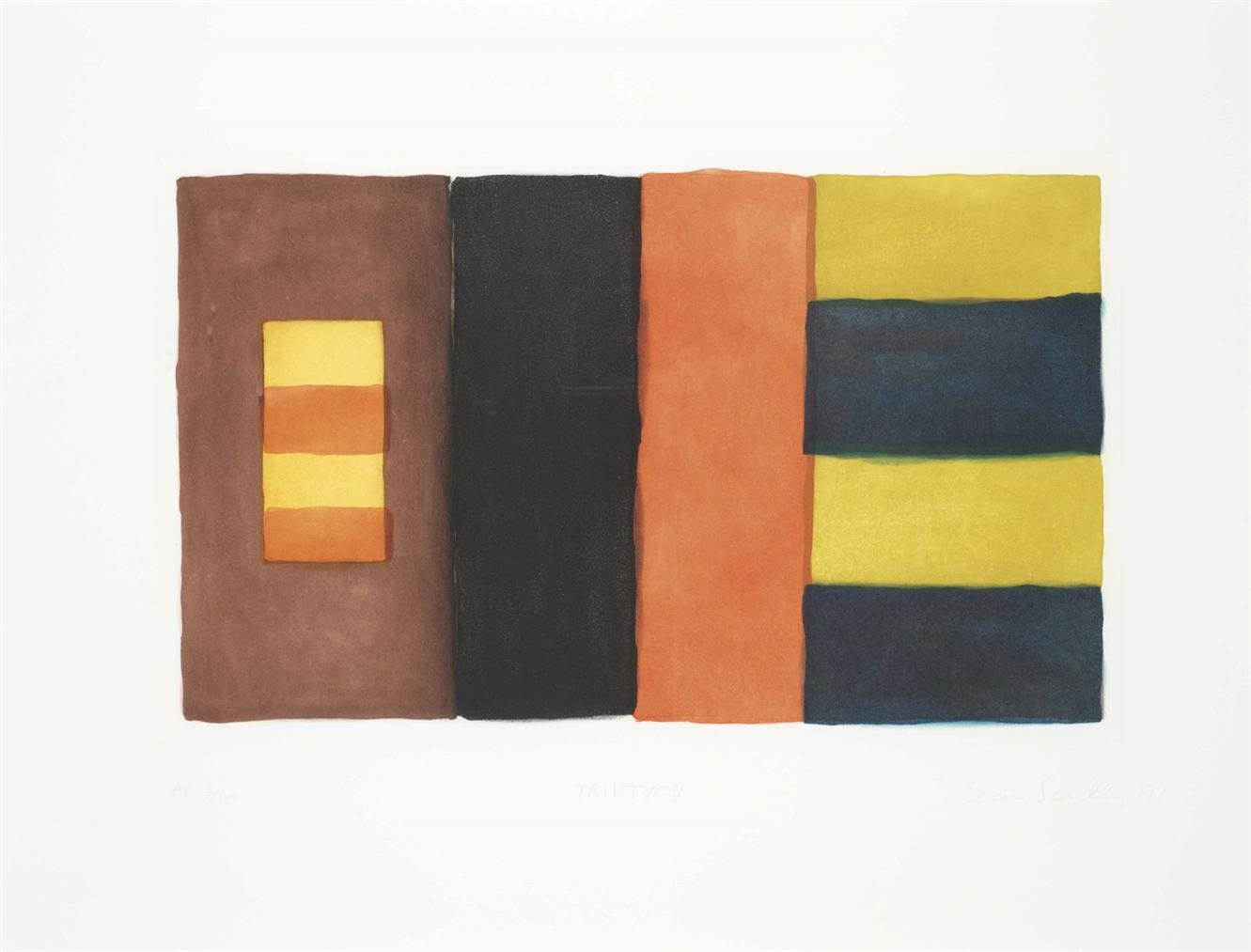 Sean Scully-Triptych-1991