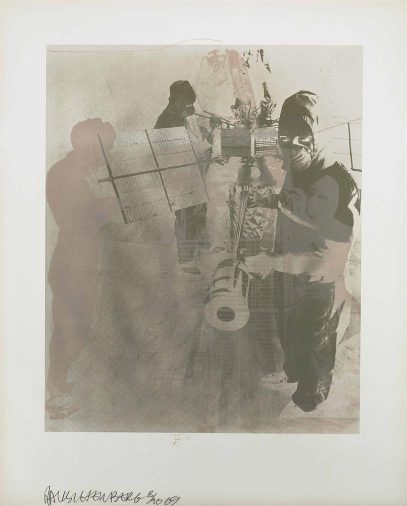 Robert Rauschenberg-Stoned Moon Series: Five Prints-1969