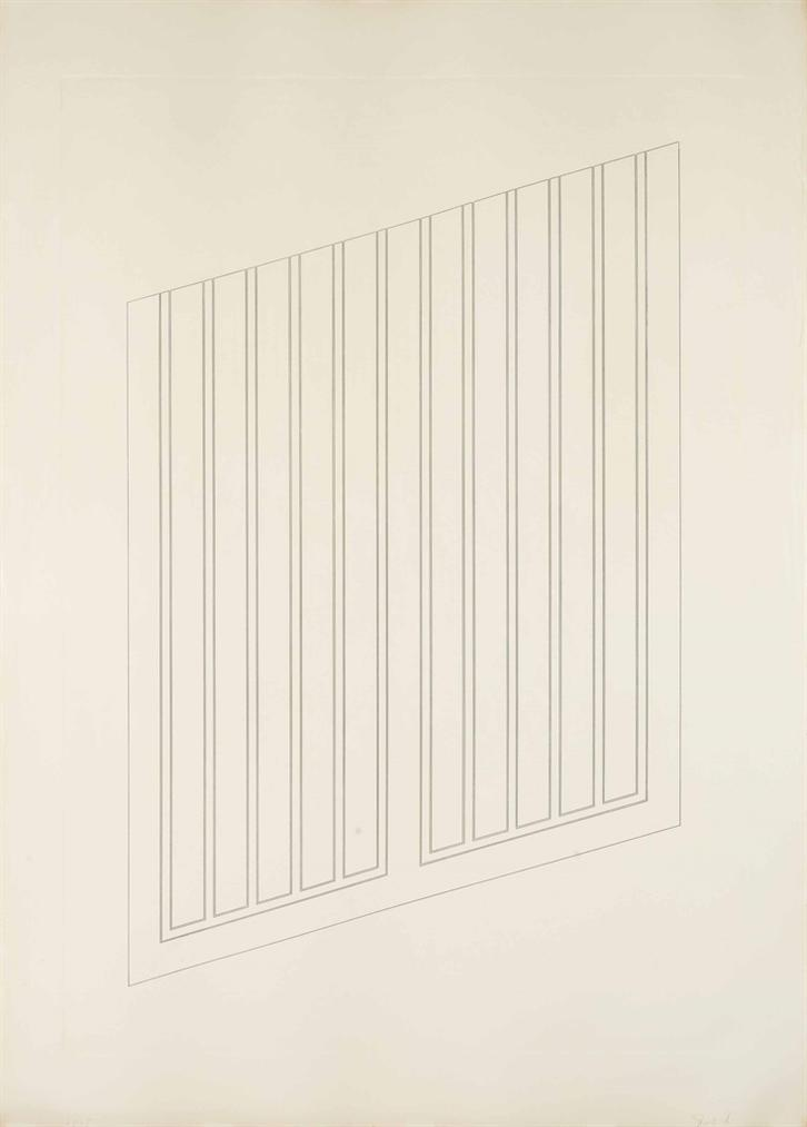 Donald Judd-Untitled: One Plate-1984