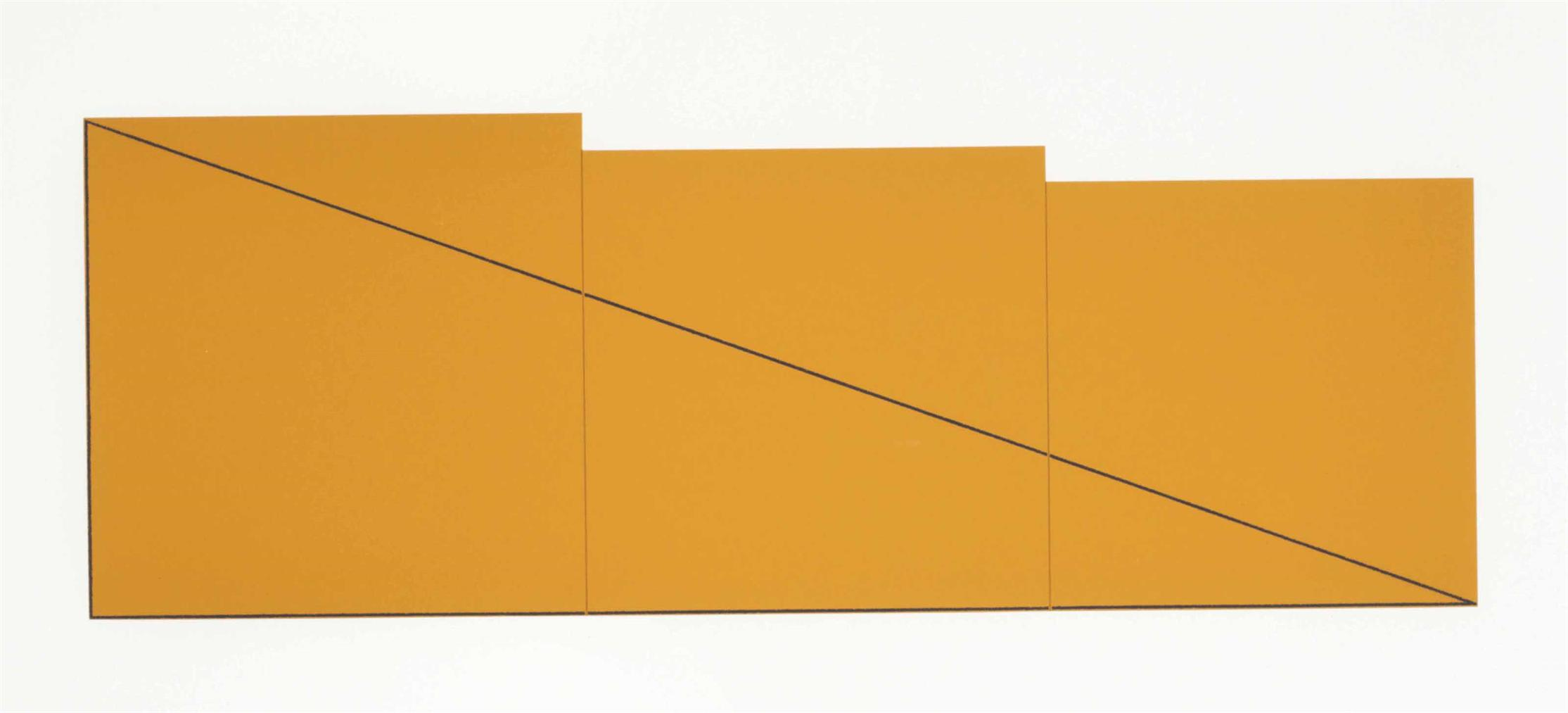 Robert Mangold-A Book Of Silk Screen Prints: Multiple Panel Paintings 1973-1976, Edition Domberger & Parasol Press S.A., Stuttgart And New York, 1992-1992
