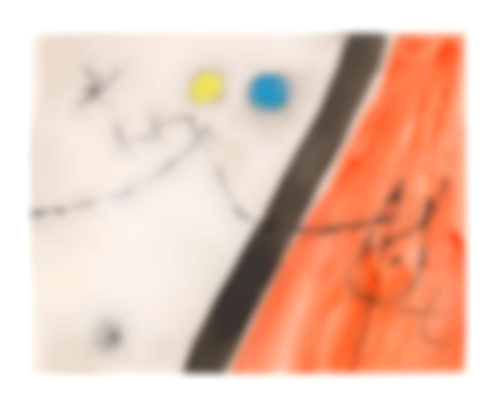 Joan Miro-Oiseau, Etoile, Constellations I-1977