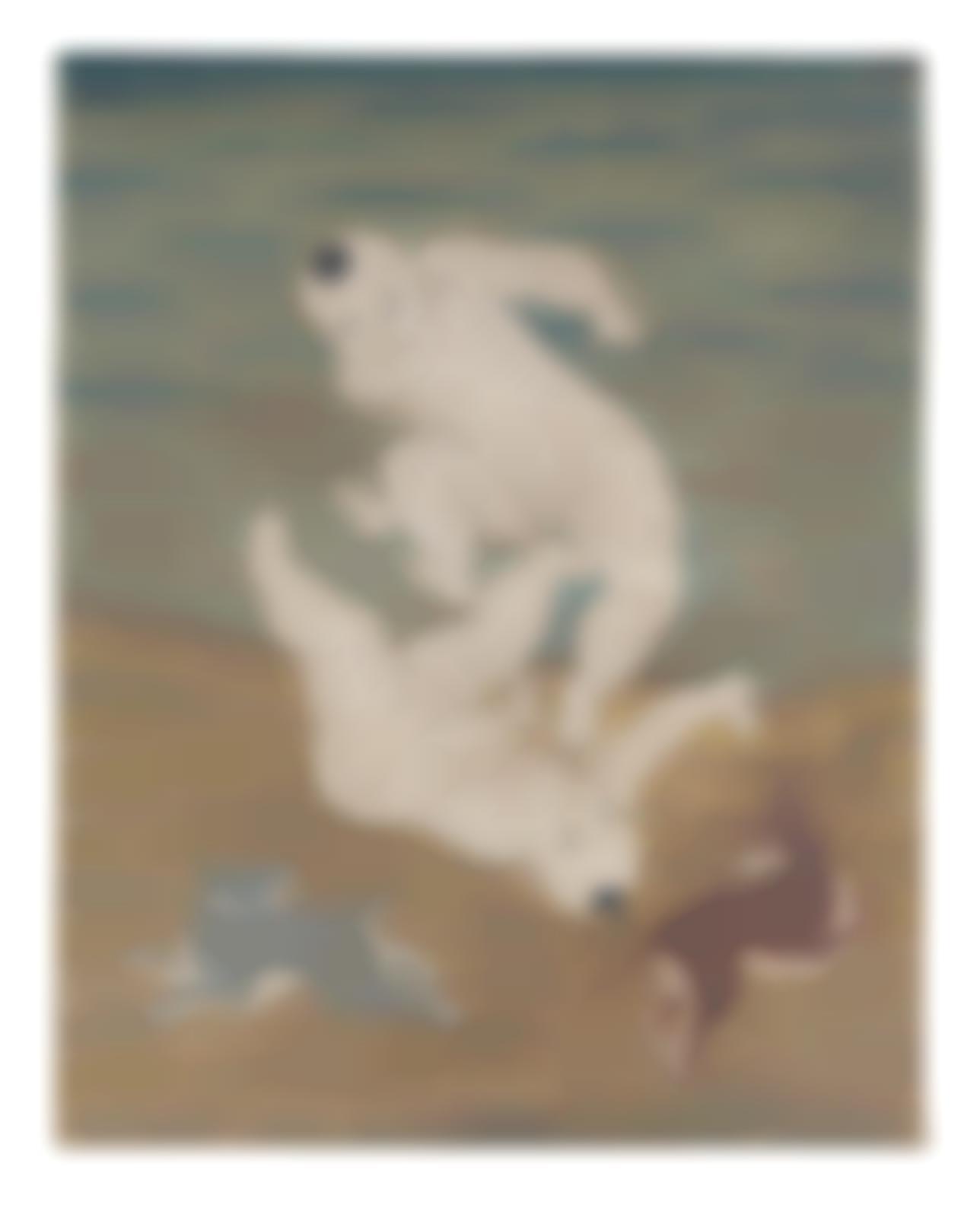 Tsuguharu Foujita-Les Enfants-1924